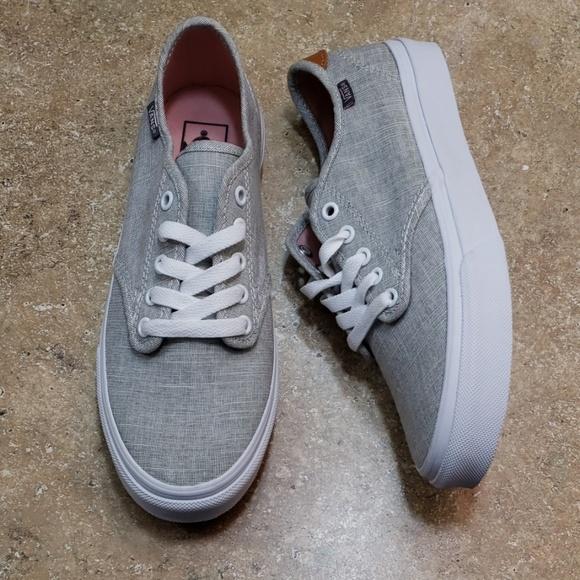 3cc2ed8d0c Vans Era 59 C L Gray White Skate Womens Shoe 8. M 5c6f40b8a31c33dfac0bb1ab